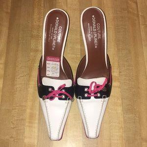 Donald  j Pliner  strapless   Loafer  heels